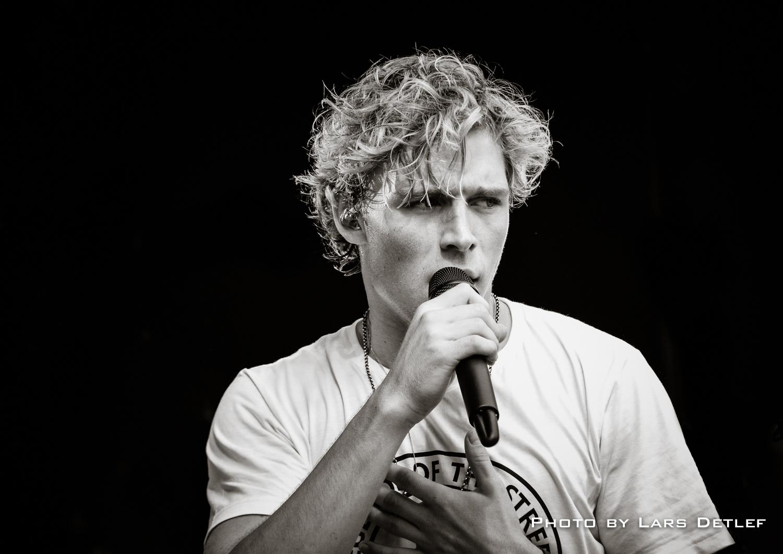 Koncert med Christopher - reportagefoto til Skærbæk Avis.